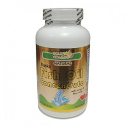 Alaska Fish Oil 1000mg - 100 Capsules - Single Bottle