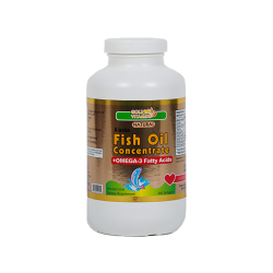 Alaska Fish Oil 1000mg - 300 Capsules - Single Bottle