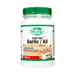 Garlic Scor-Gar - 180 Capsules - Single Bottle