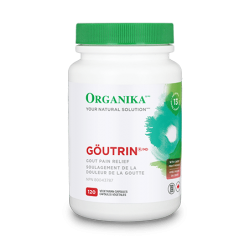 Goutrin - 120 Vegetarian Capsules - Single Bottle