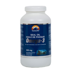 100% Harp Seal Oil Omega-3 - 300 Capsules - Single Bottle