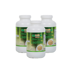 Ultra Soy Lecithin 1200mg - 300 Capsules - 3 Bottles Pack