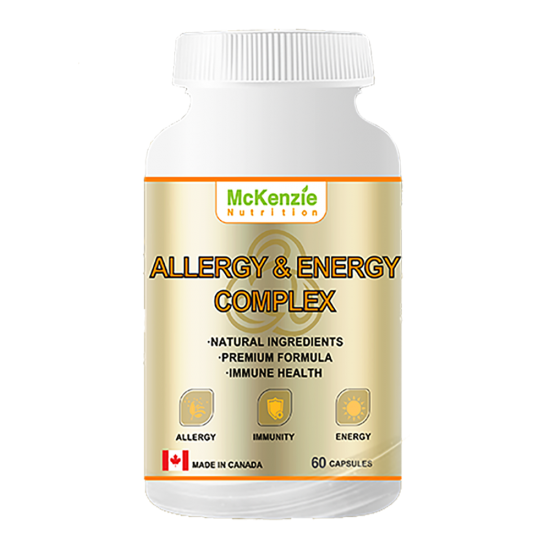 Allergy and Energy Complex - 60 Capsules - Single Bottle